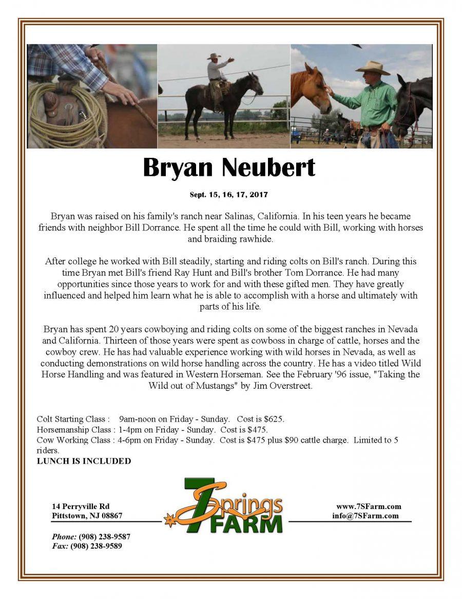 Bryant Nueburt Flyer 2017